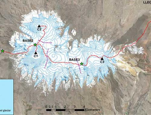 Arequipa: Inaigem inicia expedición científica al volcán Coropuna