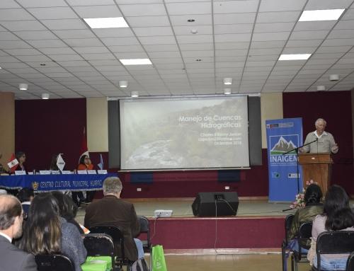 """CIENTÍFICOS PARTICIPAN DE 1° CONFERENCIA INTERNACIONAL """"LAS MONTAÑAS, NUESTRO FUTURO"""", ORGANIZADO POR INAIGEM"""