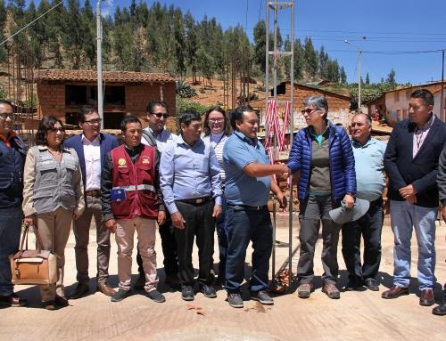 Se inauguró sistema de monitoreo preventivo ante deslizamientos en  laguna Arhuaycocha