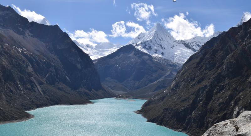 INAIGEM impulsa la implementación de un sistema preventivo de deslizamientos en la Laguna de Parón